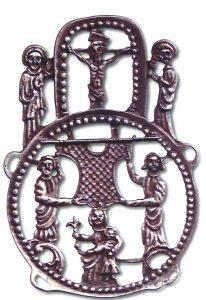Aachener Pilgerzeichen, Nachguss von 1979