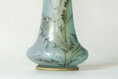 Vase mit Distelblüte