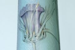 Vase mit Distelblüte (Detail)