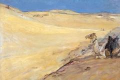 Libysche Wüste, Max Slevogt  © GDKE