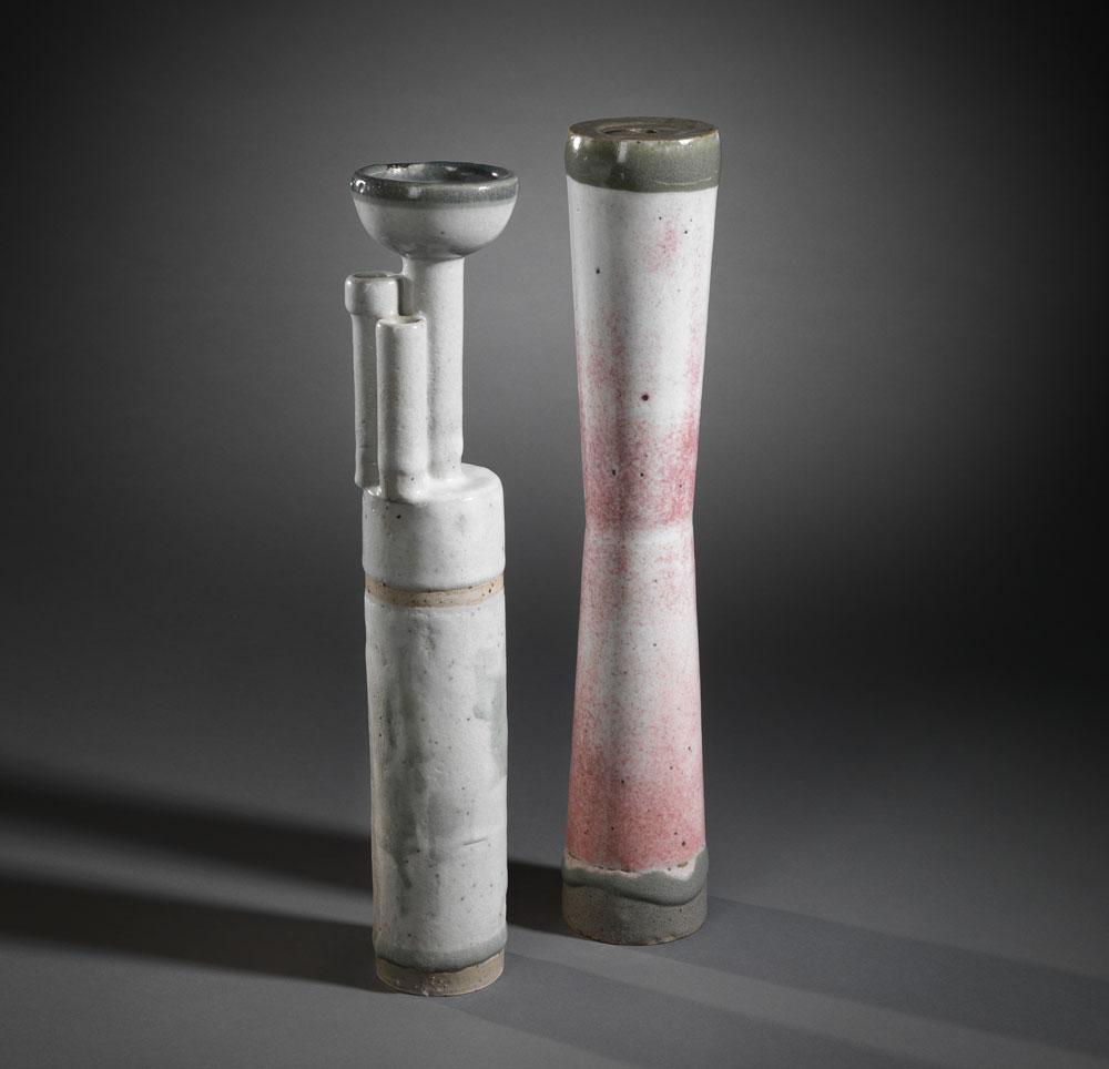 Walter Popp, Vase 1965 (Inv.-Nr. 00197-1.009)/ Vase 1963 (Inv.-Nr. 00197-968)© Ralf Ziegler