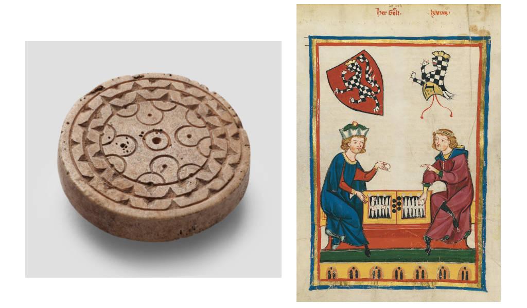 Ob der Spielstein beim Wurfzabel gebraucht wurde? Bildnachweis: © GDKE, LA-Speyer, P. Haag-Kirchner / https://digi.ub.uni-heidelberg.de/diglit/cpg848